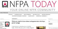 National Fire Protection Association Blog