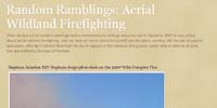 Random Ramblings, Aerial Wildland Firefighting
