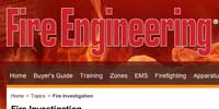 Fire Engineering: Fire Investigation