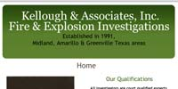Kellough & Associates, Inc. Fire & Explosion Investigations