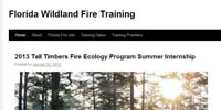 Florida Wildland Fire Training