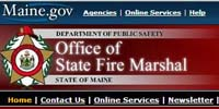 MaineOfficeofStateFireMarshal