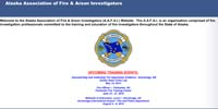 Alaska Association of Fire & Arson Investigators