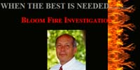 Bloom Fire Investigation