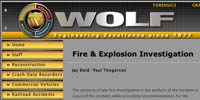 Fire & Explosion Investigation - Wolf Technical Services, Inc.